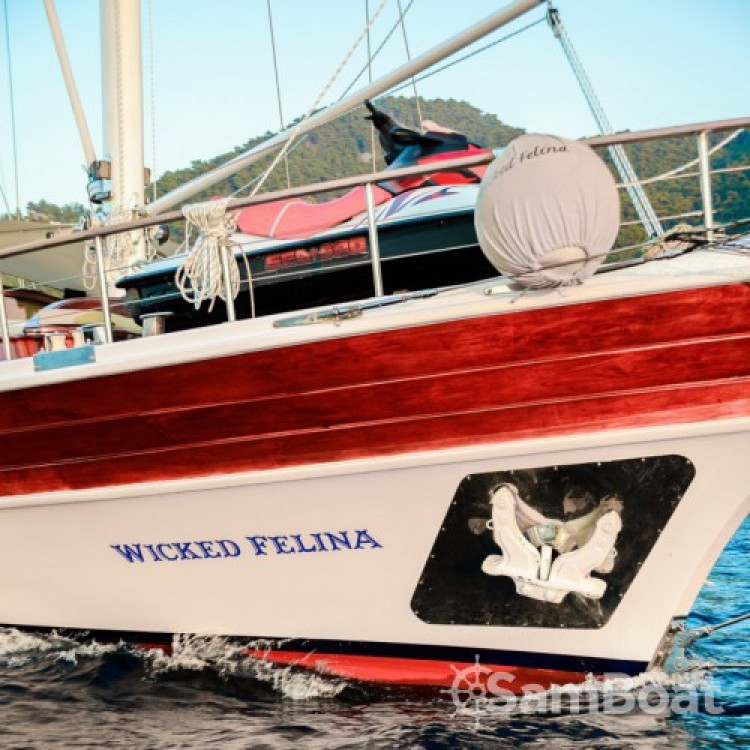 Verhuur Zeilboot in Marmaris - Deluxe-Yachts WICKED FELINA