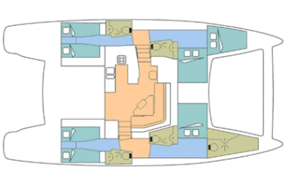 Catana Catana 50 Ocean Class entre particuliers et professionnel à Marigot