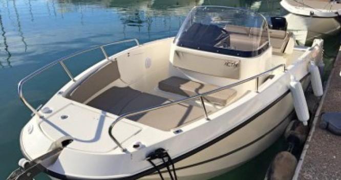 Location bateau Quicksilver Activ 755 Open à Saint-Malo sur Samboat