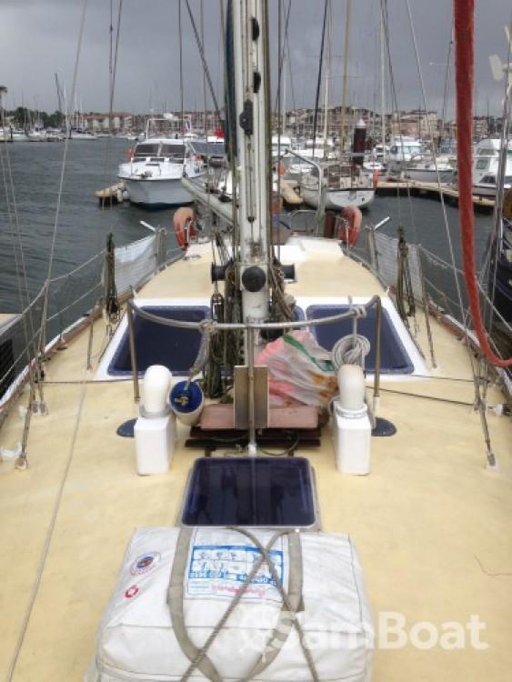 Louer Voilier avec ou sans skipper Destrier à Capbreton