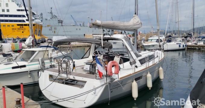 Location bateau Toulon pas cher Oceanis 41