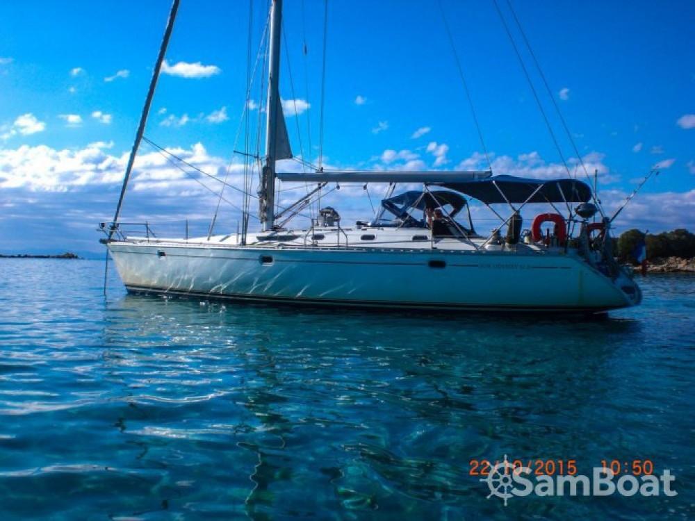 Jeanneau Sun Odyssey 52.2 zwischen Privatpersonen und professionellem Anbieter Ajaccio