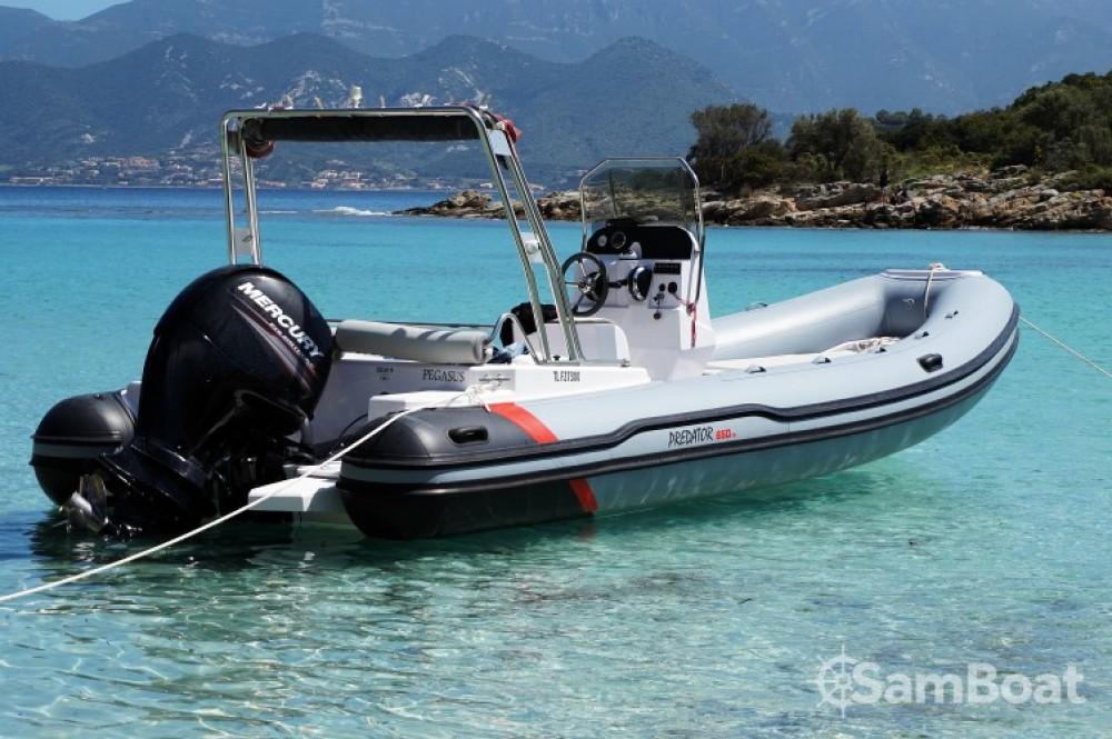 Location bateau Saint-Florent pas cher Predator 650 TS