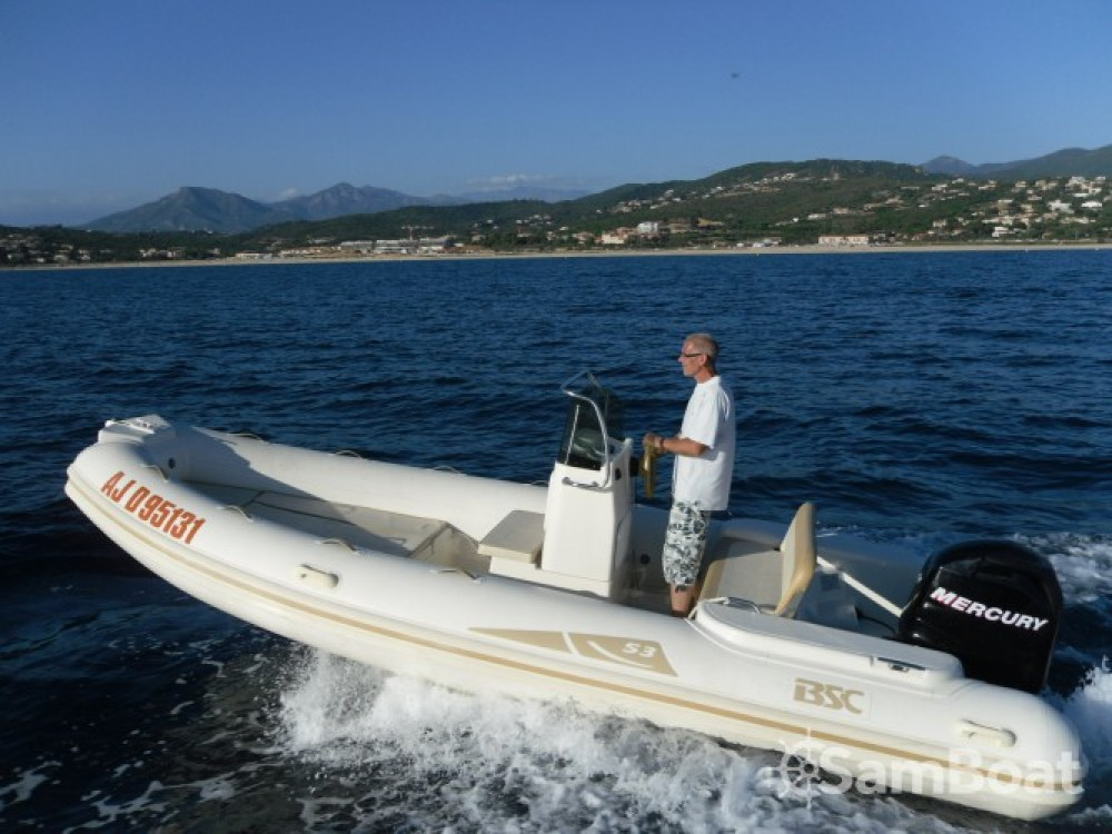 Location bateau Ajaccio pas cher BSC 53