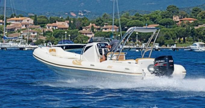 Louer Semi-rigide avec ou sans skipper Bsc à Ajaccio
