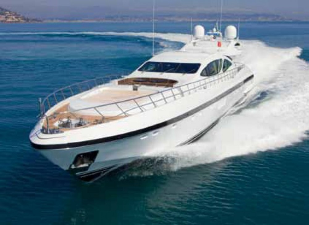 Rental Yacht Mangusta with a permit