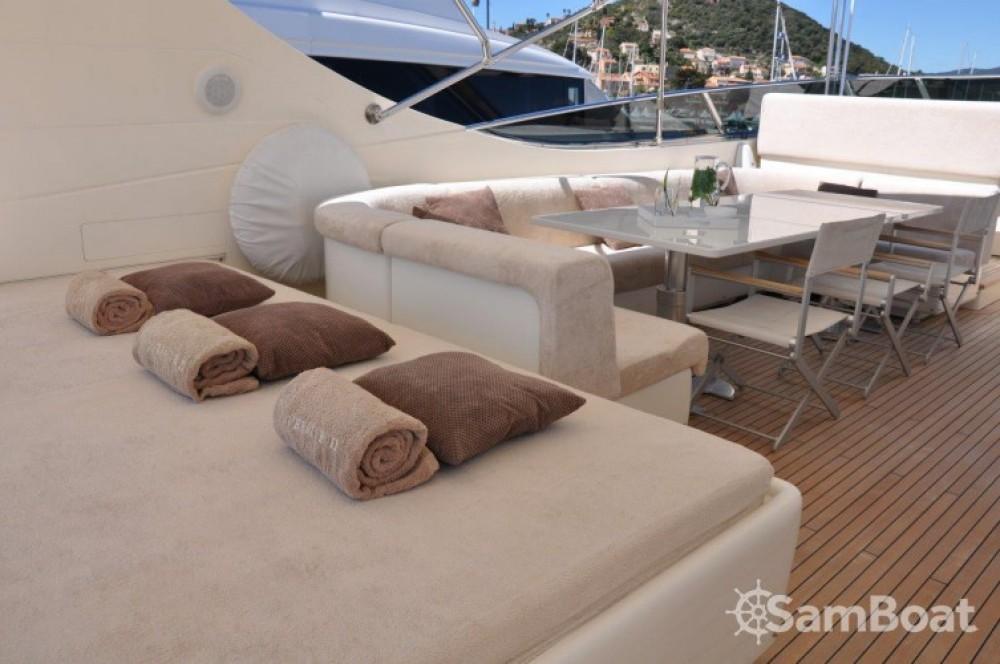 Yacht for rent Mandelieu-la-Napoule at the best price