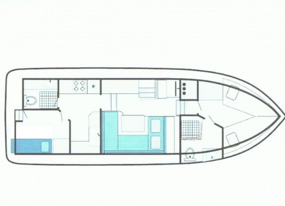 Verhuur Motorboot Bucaner met vaarbewijs