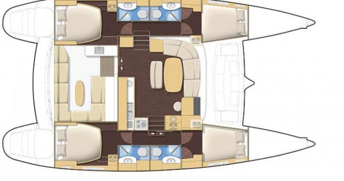 Location yacht à Bonifacio - Lagoon Lagoon 440 sur SamBoat