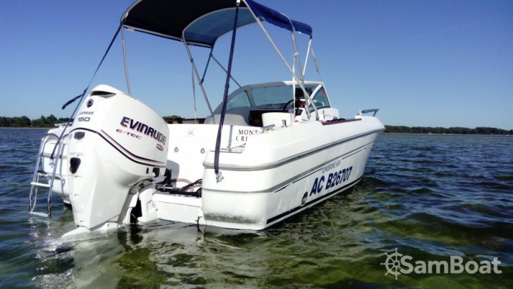 Boat rental Arcachon cheap Ombrine 630