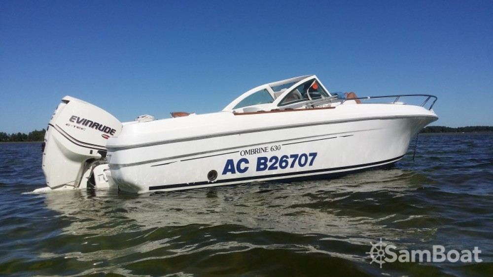 Boat rental Arcachon cheap Ombrine 630