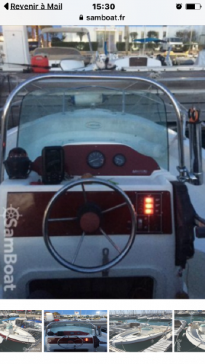 Huur Motorboot met of zonder schipper Marinello in Saint-Laurent-du-Var