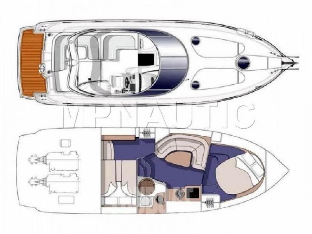 Louer Bateau à moteur avec ou sans skipper Cranchi à Beaulieu-sur-Mer