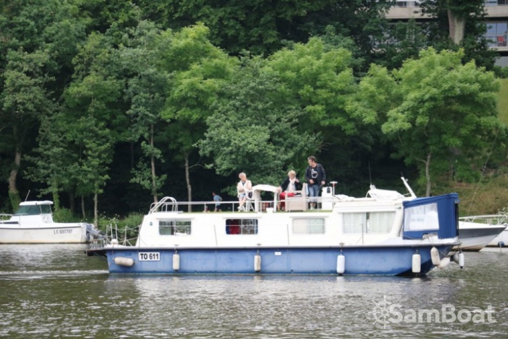 Alquiler Casa flotante Socorel con título de navegación