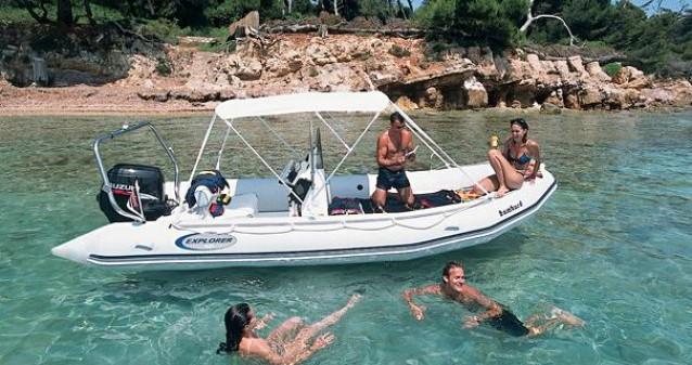 Location bateau Marseille pas cher Explorer 550 SB
