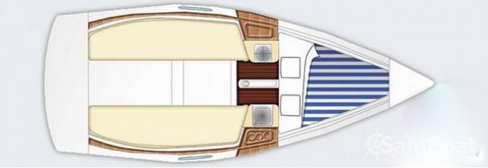 Location yacht à Port du Crouesty - Bénéteau First 21.7 sur SamBoat