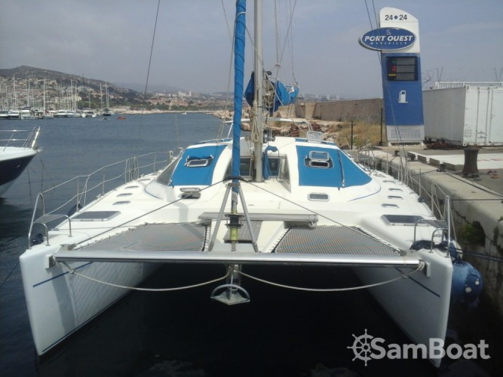 8 pers catamaran te huur van particulier of professional in Marseille