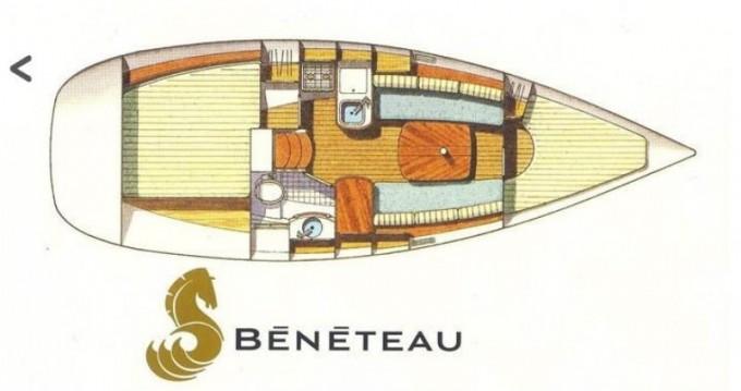 Location Voilier Bénéteau avec permis