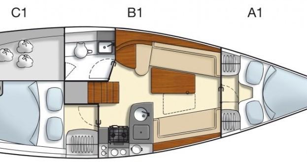 Louer Voilier avec ou sans skipper Hanse à Port du Crouesty