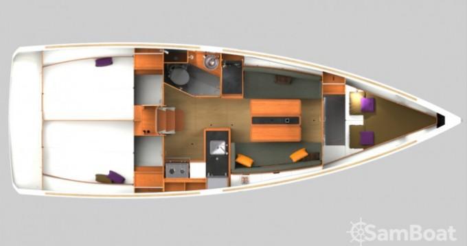 Location bateau Arzon pas cher Sun Odyssey 349
