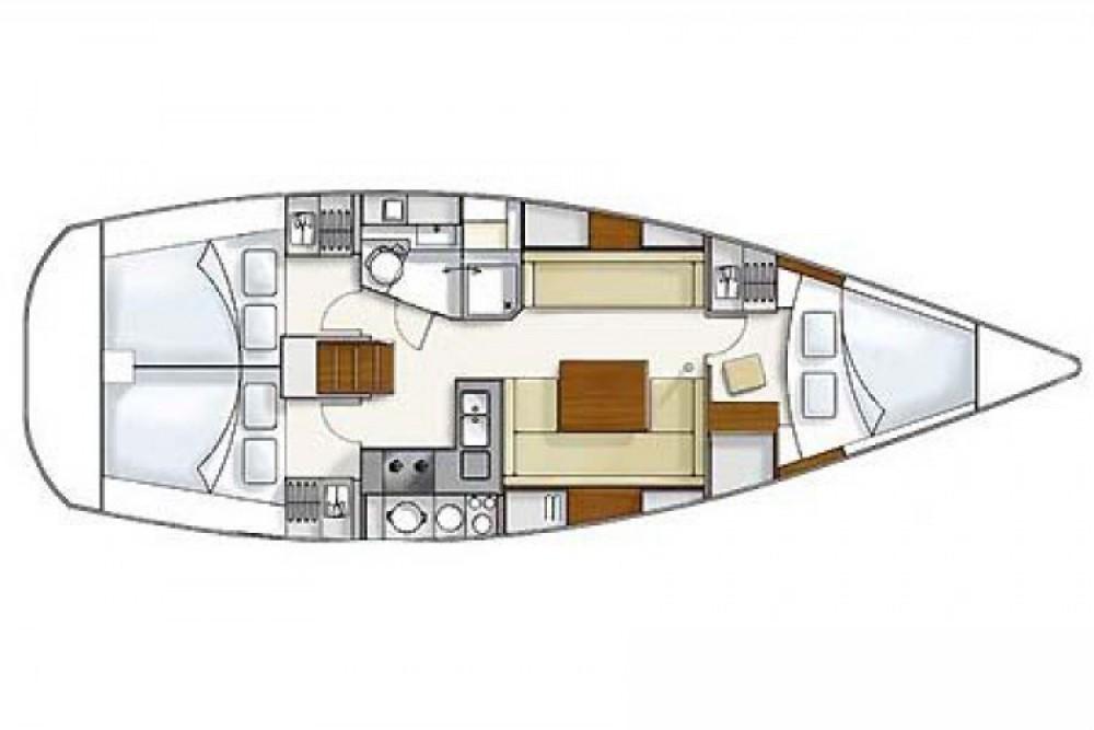 Location bateau Hanse Hanse 375 à Arzon sur Samboat