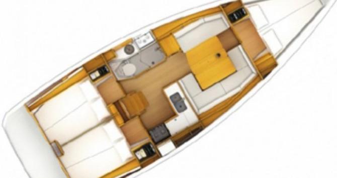 Jeanneau Sun Odyssey 389 DL entre particuliers et professionnel à Port du Crouesty