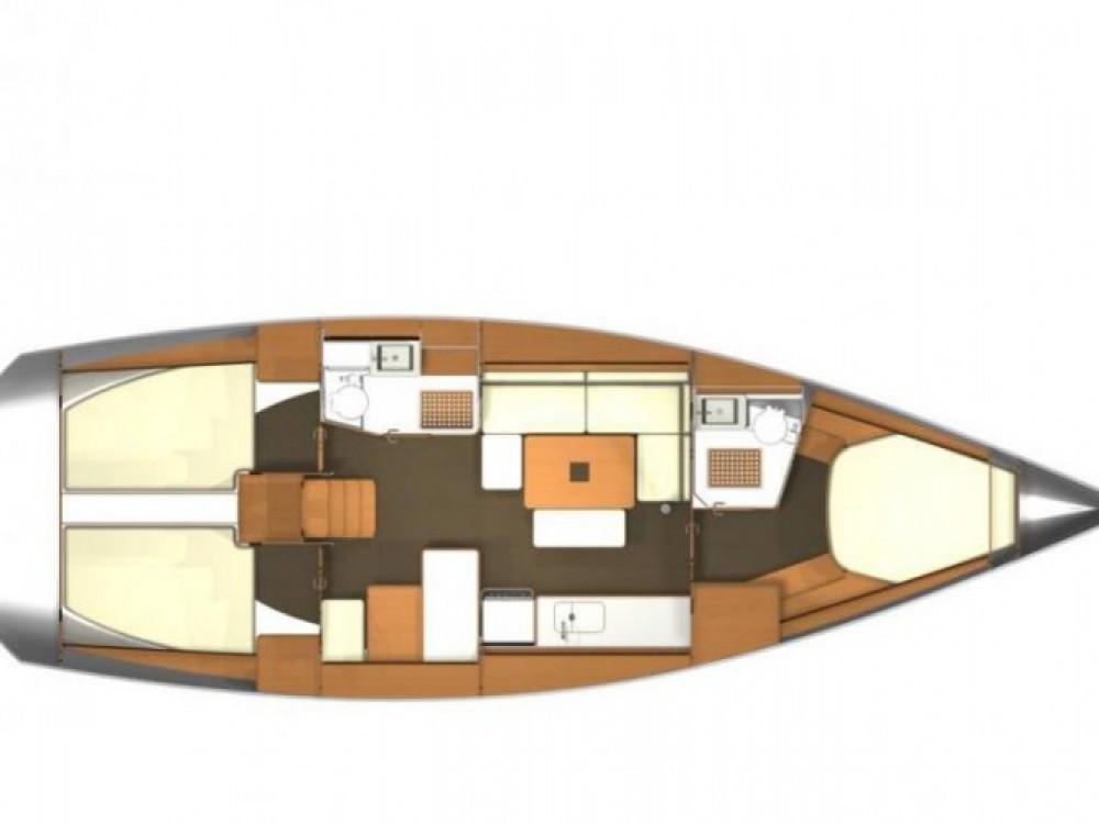 Segelboot mit oder ohne Skipper Dufour mieten in Arzon