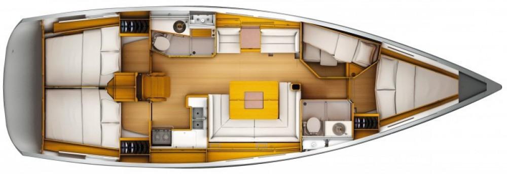 Location bateau Jeanneau Sun Odyssey 439 à Arzon sur Samboat