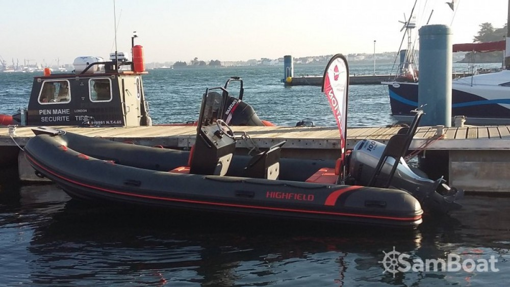Bootverhuur Highfield Ocean Master 590 in Lorient via SamBoat