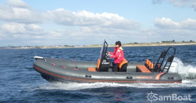 Rental RIB in Lorient - Highfield Ocean Master 590