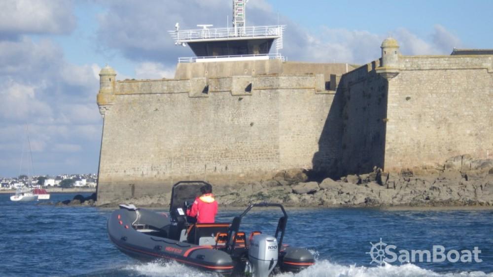 Verhuur Rubberboot in Lorient - Highfield Ocean Master 590