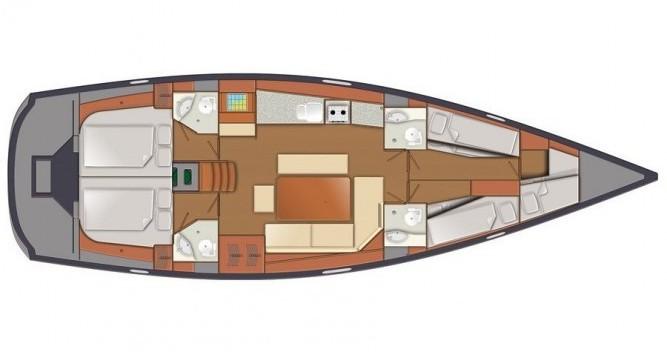 Location bateau Norvège pas cher Delphia 47