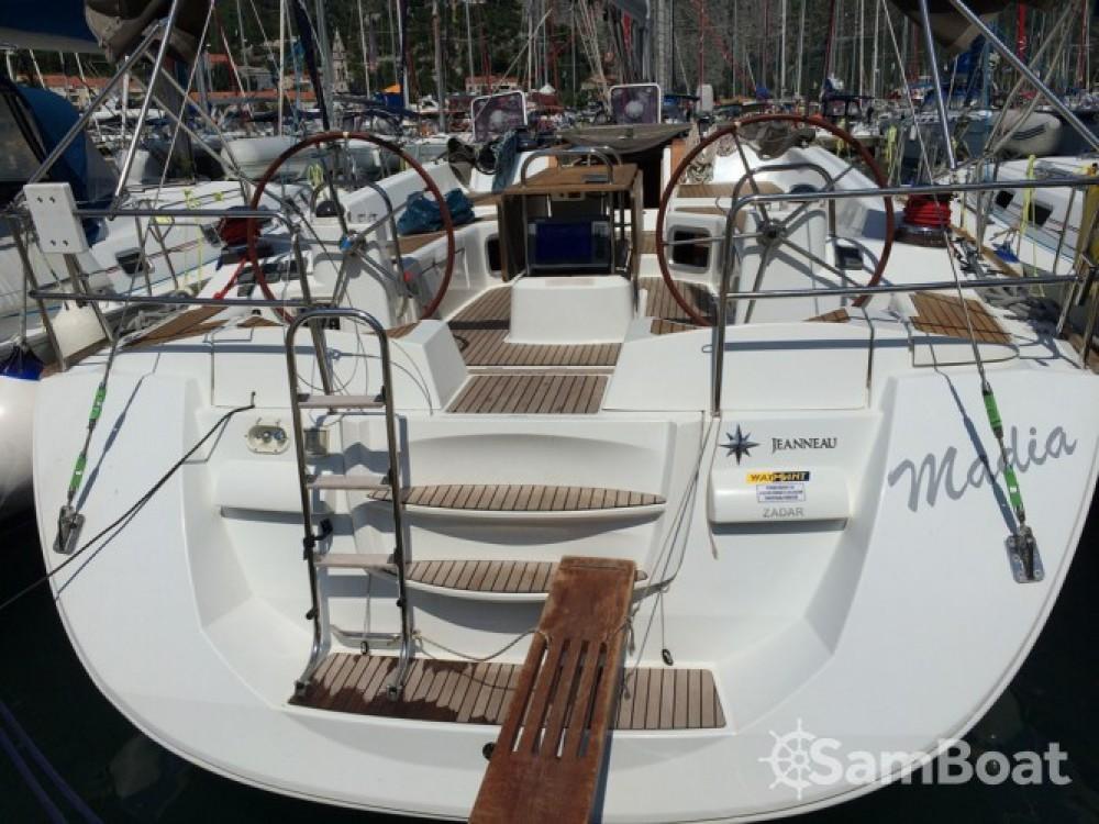 Location bateau Jeanneau Jeanneau 53 à Marina Baotić sur Samboat