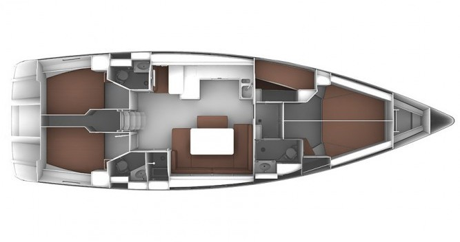 Location bateau ACI Marina Trogir pas cher Cruiser 51