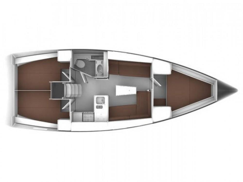 Bavaria Bavaria Cruiser 37 zwischen Privatpersonen und professionellem Anbieter ACI Marina Trogir