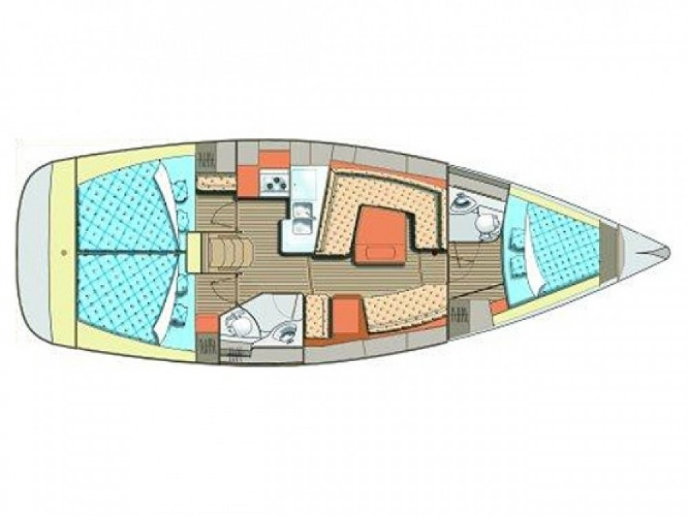Location yacht à ACI Marina Dubrovnik - Elan Elan 384 Impression sur SamBoat