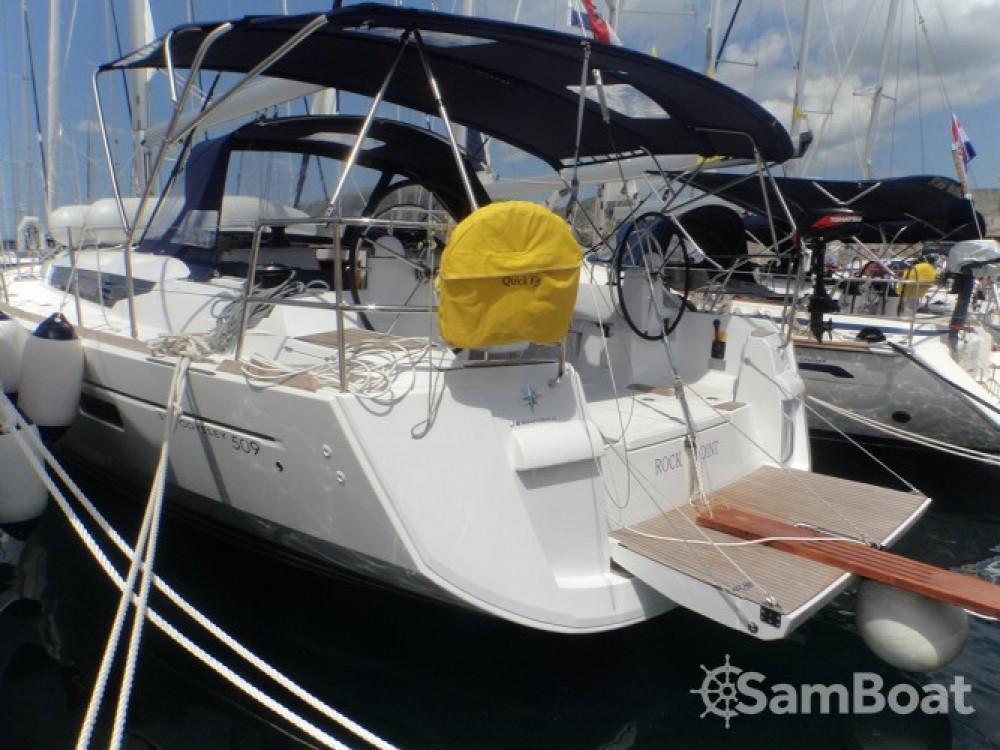 Location bateau Jeanneau Sun Odyssey 509 à ACI Marina Trogir sur Samboat