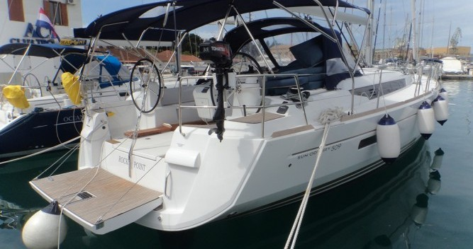 Location bateau ACI Marina Trogir pas cher Sun Odyssey 509