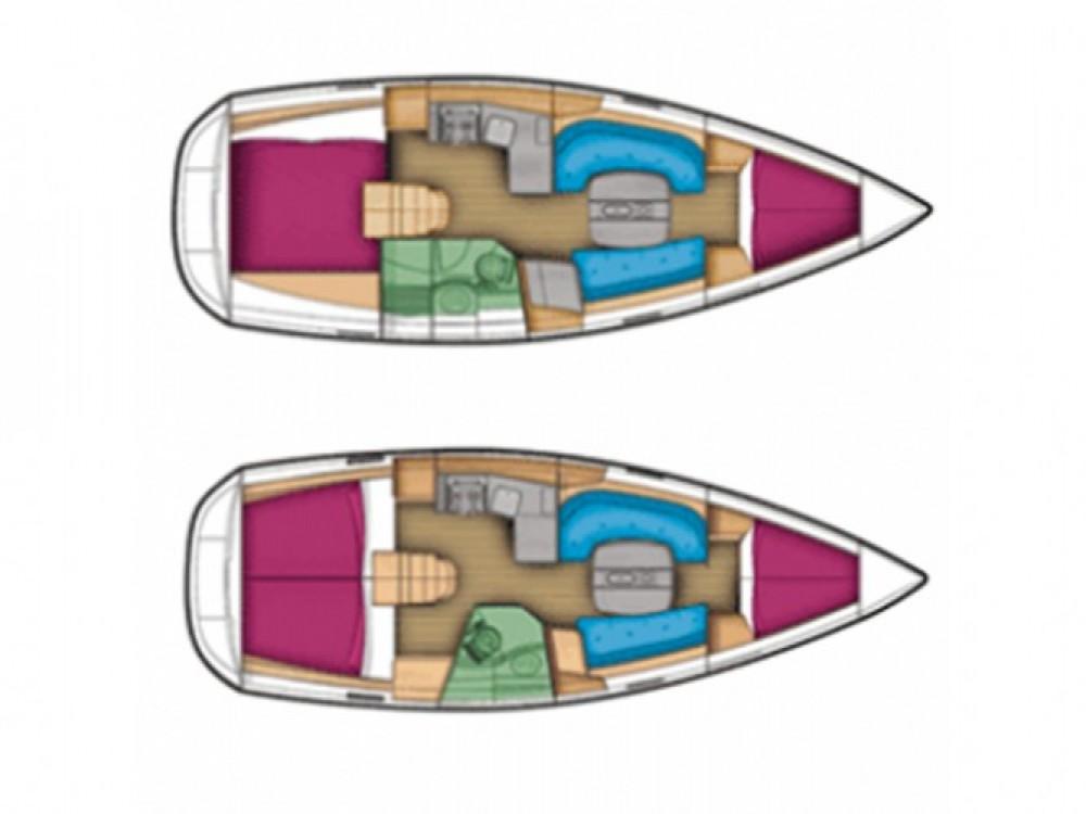 Huur Zeilboot met of zonder schipper Jeanneau in ACI Marina Trogir