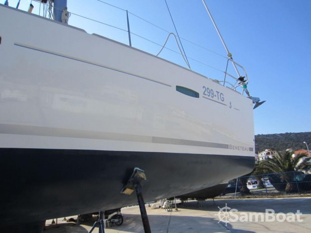 Location bateau ACI Marina Trogir pas cher Oceanis 40
