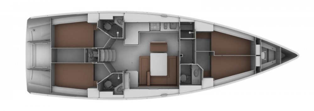 Boat rental ACI Marina Dubrovnik cheap Cruiser 45