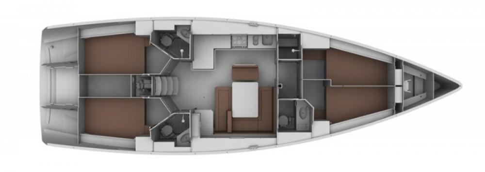 Rental yacht ACI Marina Dubrovnik - Bavaria Cruiser 45 on SamBoat