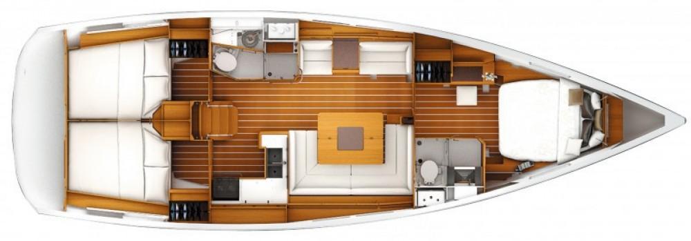 Location bateau Marina Kaštela pas cher Sun Odyssey 439