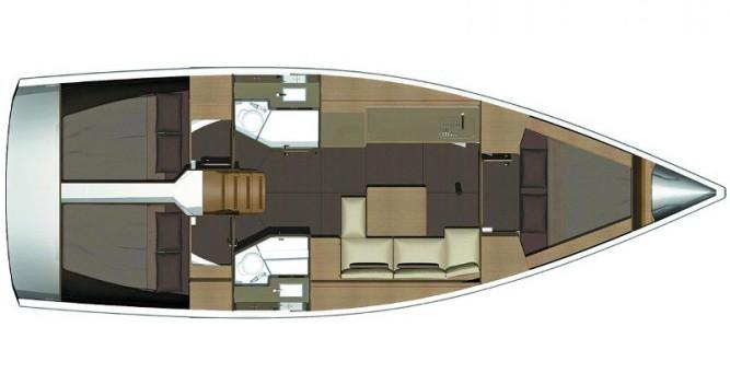 Location bateau Dufour Dufour 382 Grand Large à Marina Kaštela sur Samboat