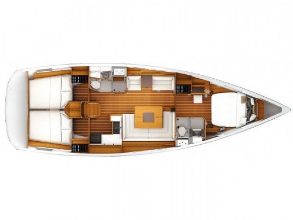 Rental Sailboat in Marina Kaštela - Jeanneau Sun Odyssey 449