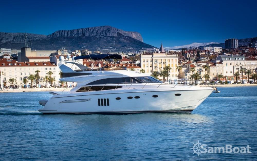 Location Bateau à moteur à ACI Marina Dubrovnik - Princess Princess 62