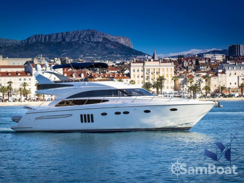 Location yacht à ACI Marina Dubrovnik - Princess Princess 62 sur SamBoat