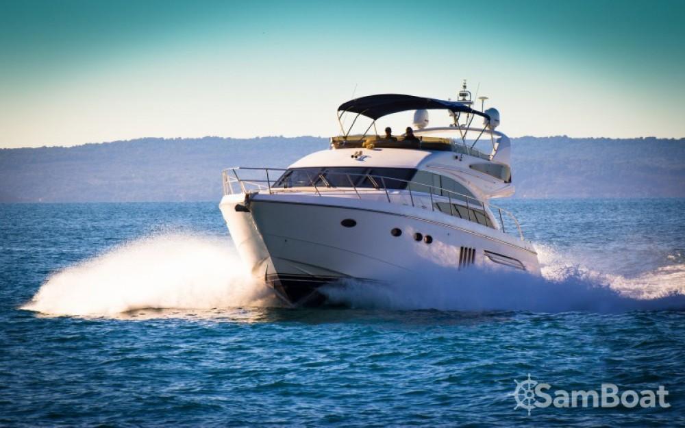 Princess Princess 62 entre particuliers et professionnel à ACI Marina Dubrovnik