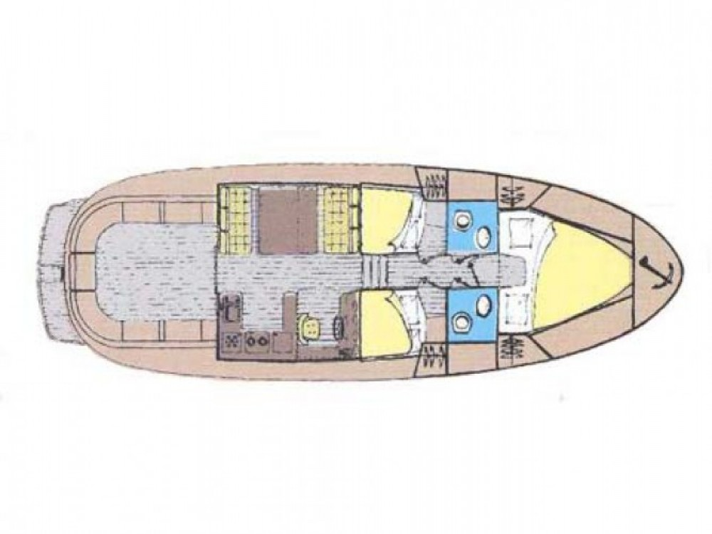 Location bateau Sukošan pas cher ADRIA 1002