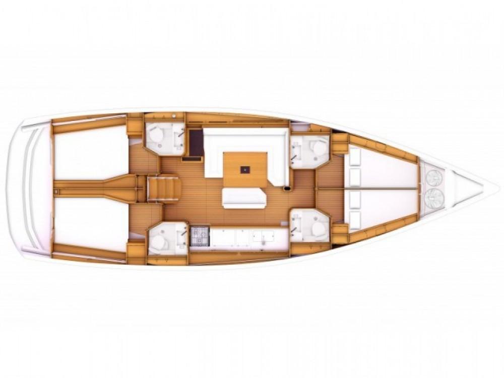 Location yacht à Marina de Alimos - Jeanneau Sun Odyssey 469 sur SamBoat